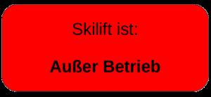 Skilift-aus