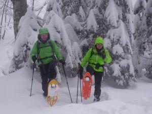 Bergwandern mit Schneeschuhen