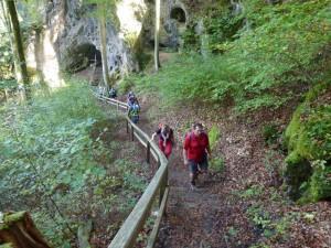 "Tageswanderung im ""Muggendorfer Gebirge"""